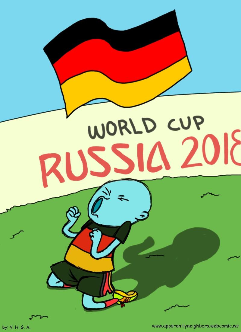 Deutschland Copa del Mundo 2018